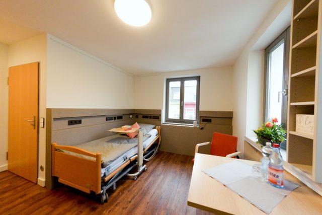 Neue Zimmer des Hospiz Krefelds